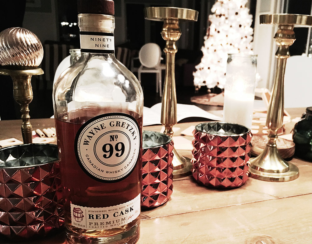 Wayne Gretzky No 99 Red Cask