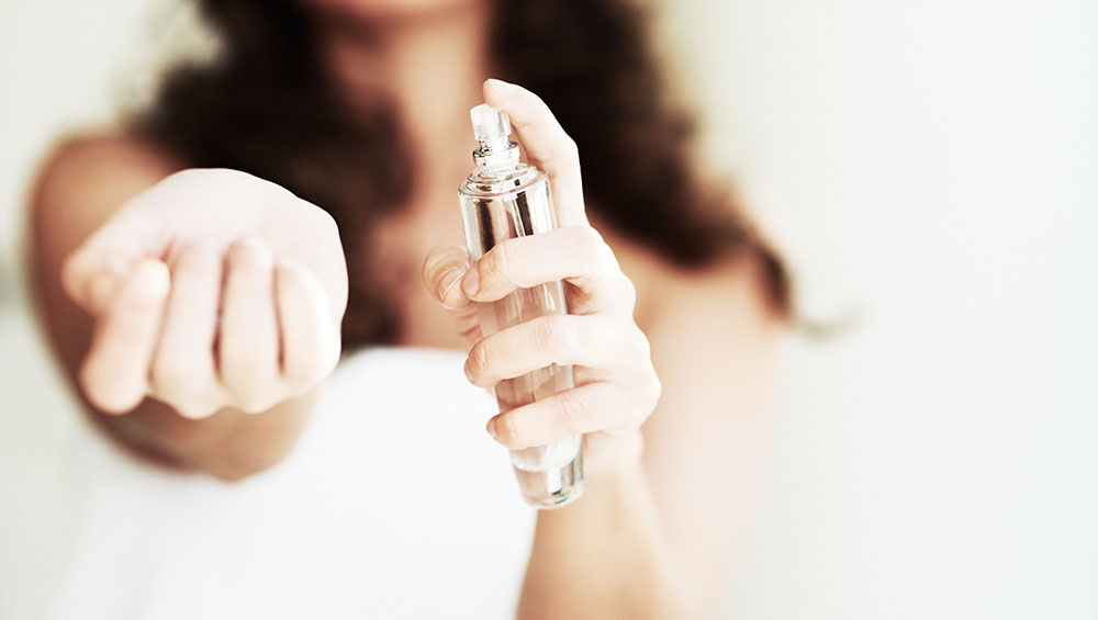 Apply Perfume without fear