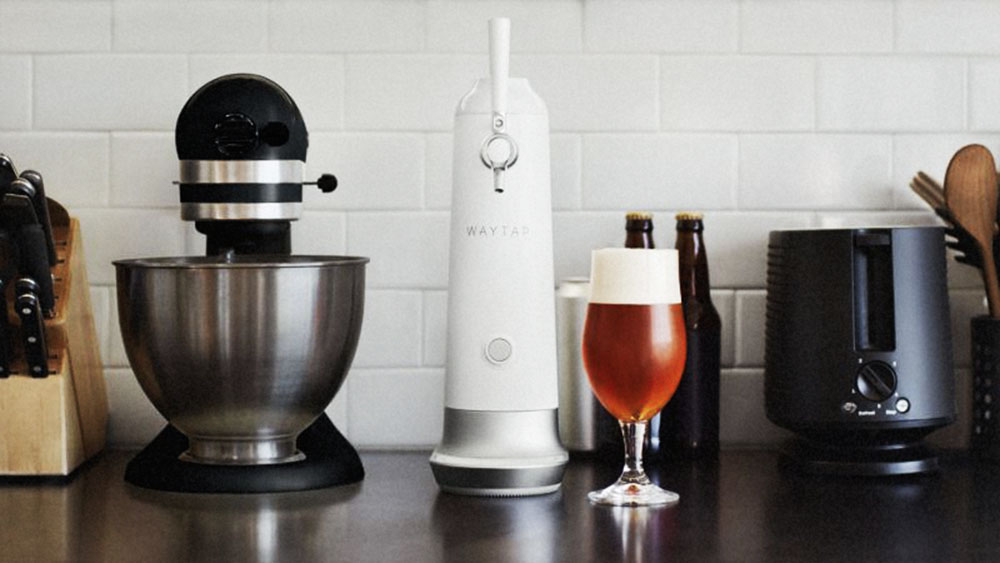 Fizzics Waytap portable beer dispenser