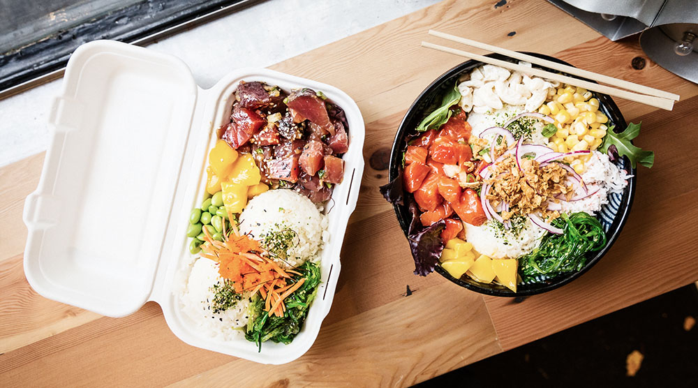 The Poke Guy poke bowl