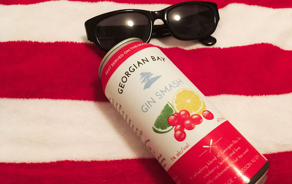 Georgian Bay Cranberry Gin Smash lead