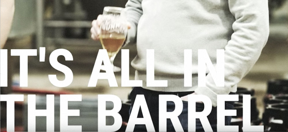 Barrel-aged beer video lead