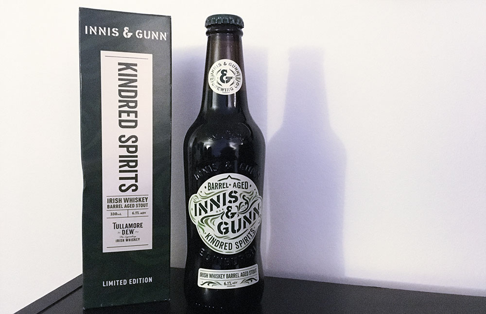 Kindred Spirits Irish Whiskey Barrel Aged Stout