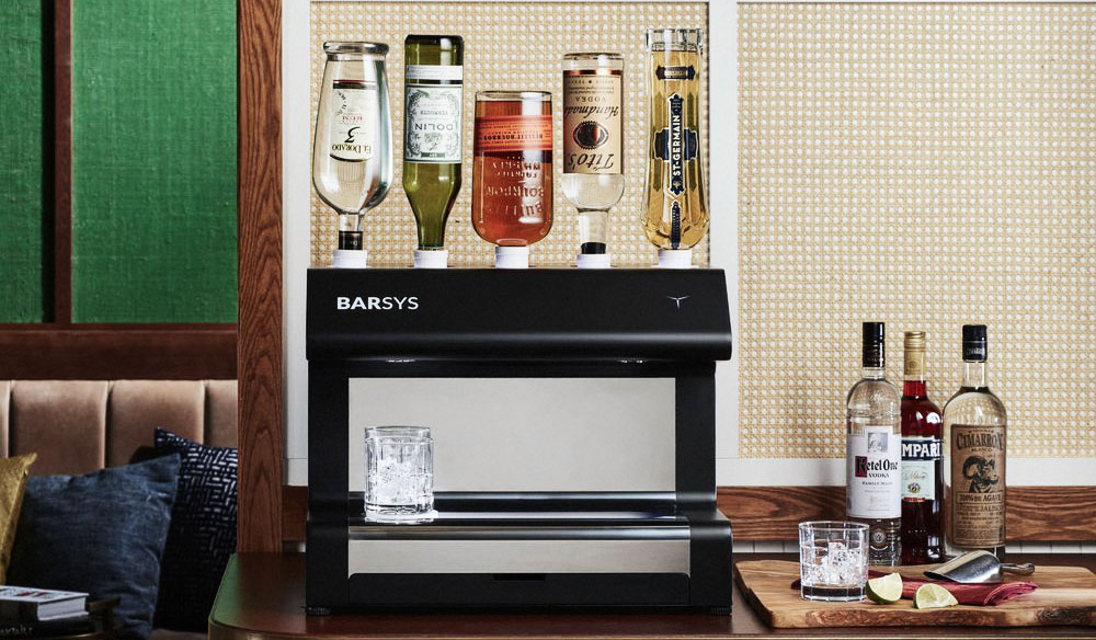 barsys robotic cocktail maker