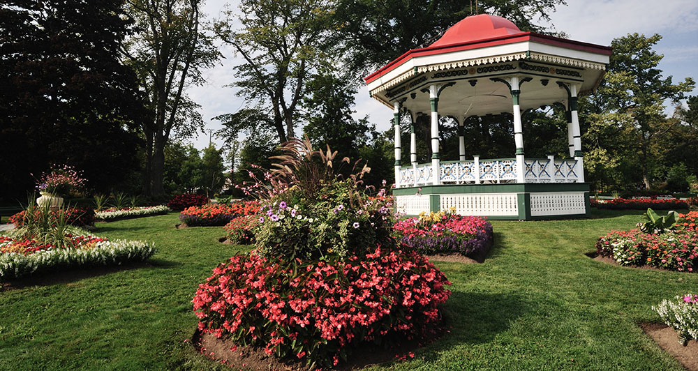 Public Garden in Summer, Halifax, Nova Scotia, Canada