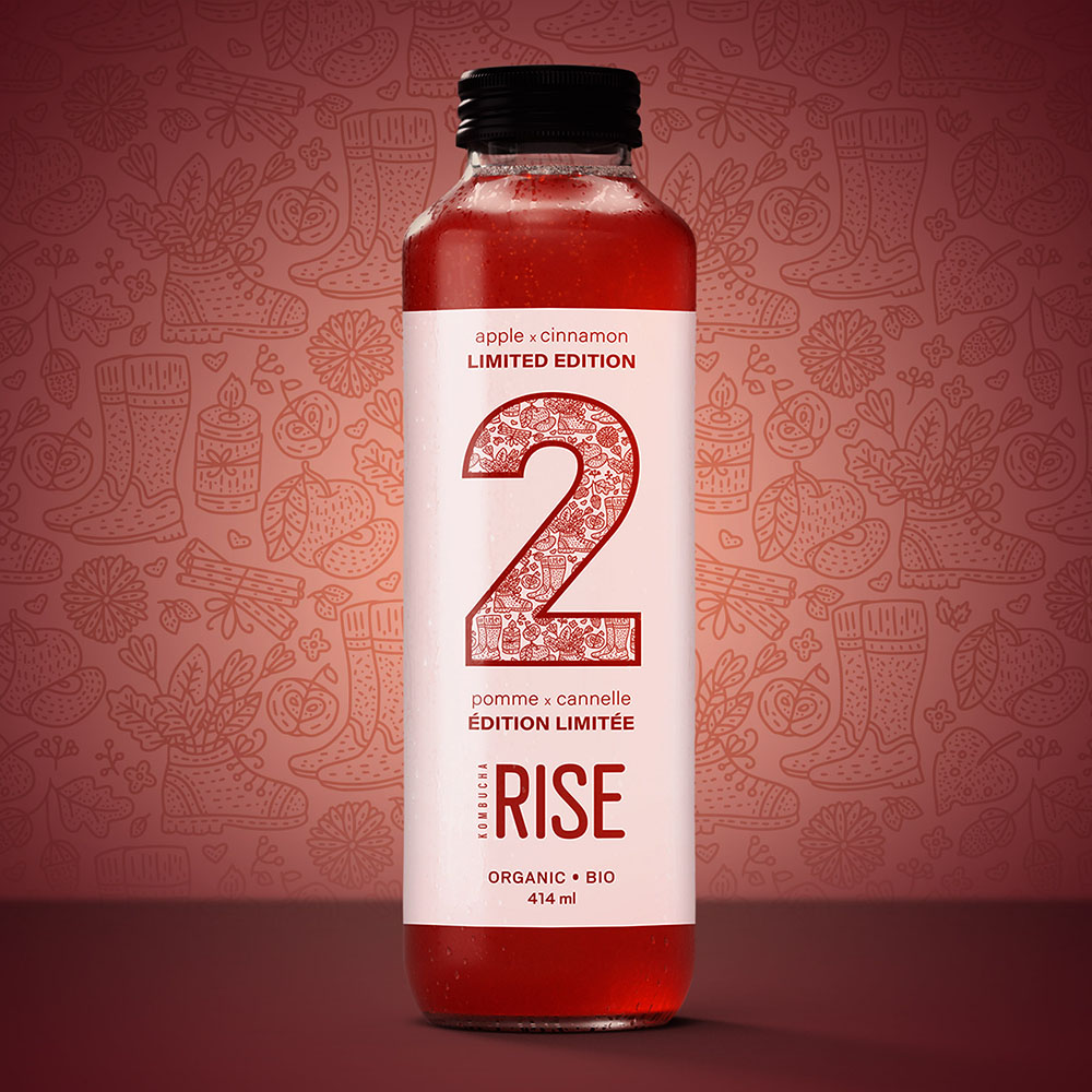 Rise Kombucha Apple X Cinnamon Review