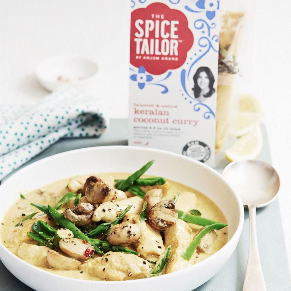 Keralan Coconut Curry by The Spice Tailor
